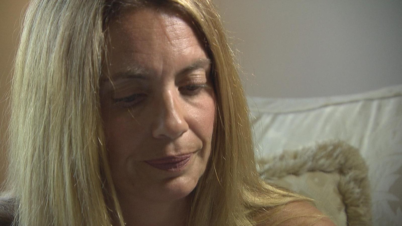 Natasha Poirier chez elle, en entrevue.