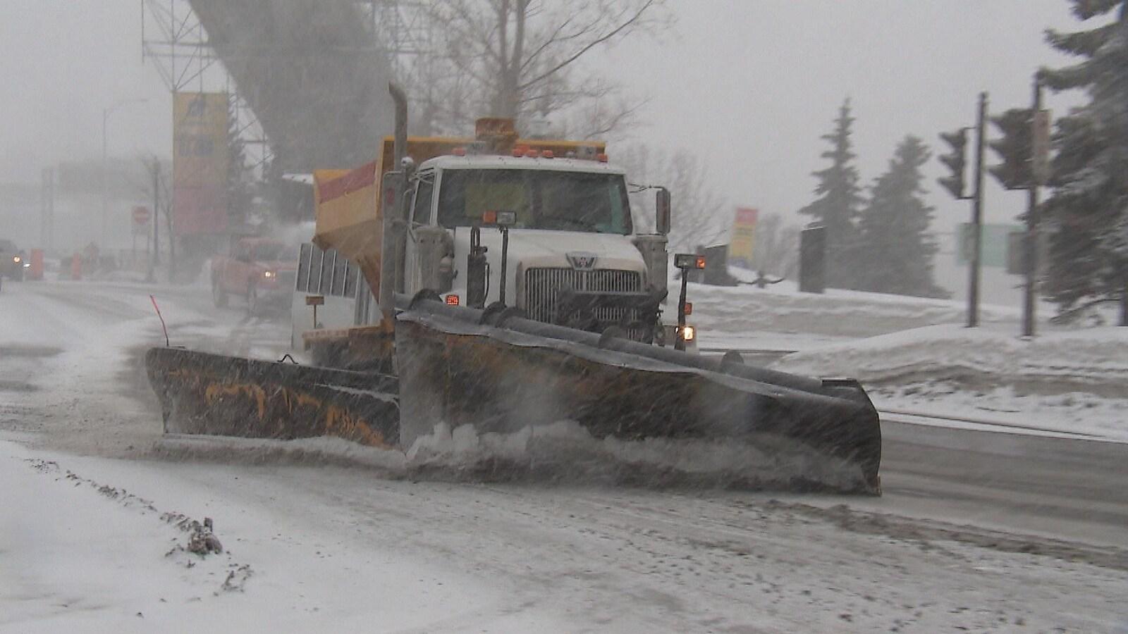 La région métropolitaine devrait recevoir de 15 à 20 cm de neige au total.