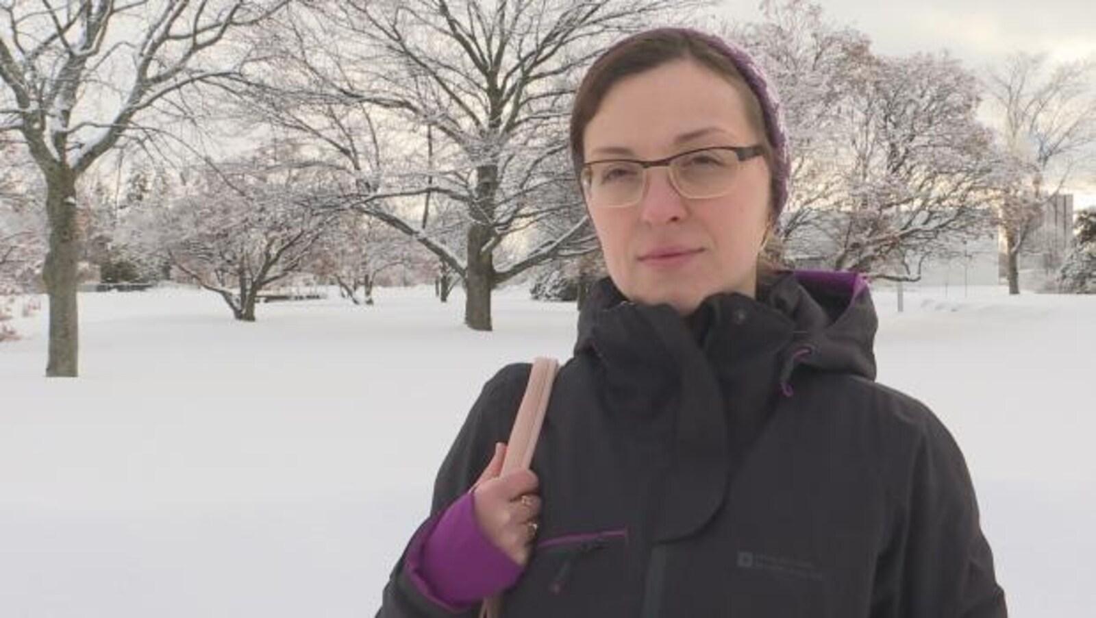 Olena Stetskevych souhaite faire immigrer ses parents ukrainiens au Canada.