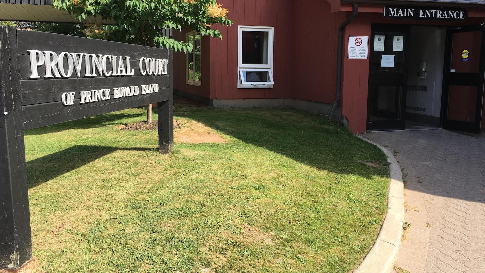La Cour provinciale de l'Île-du-Prince-Édouard, à Charlottetown.