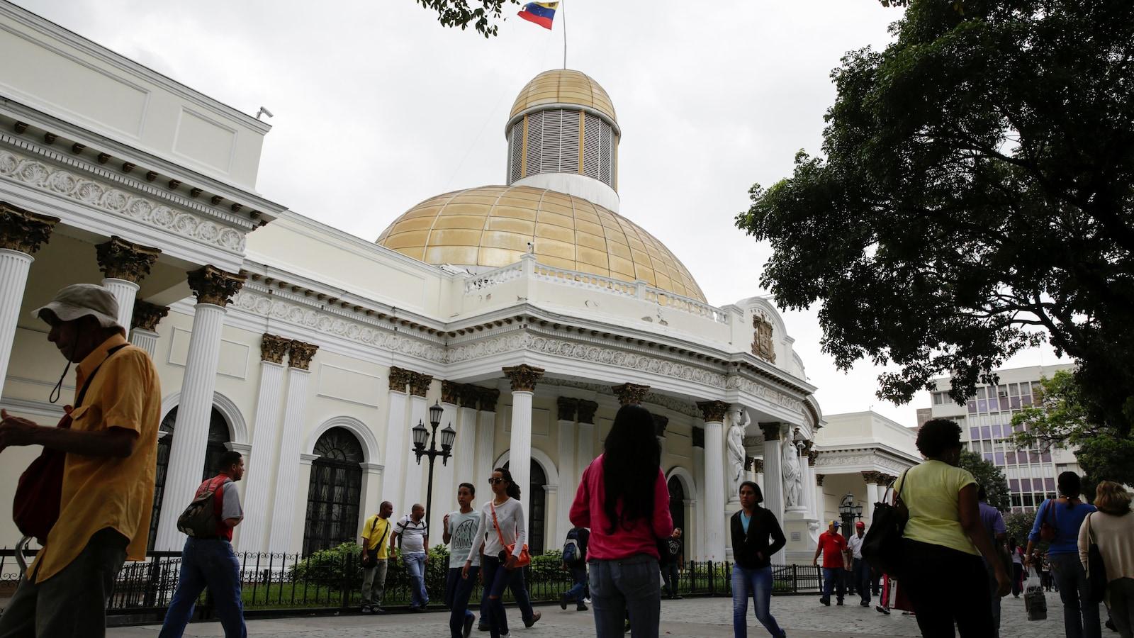 Le parlement du Venezuela  à Caracas (archives)
