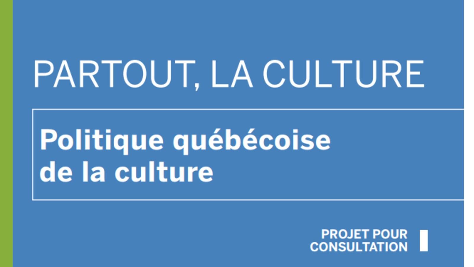 Partout, la culture