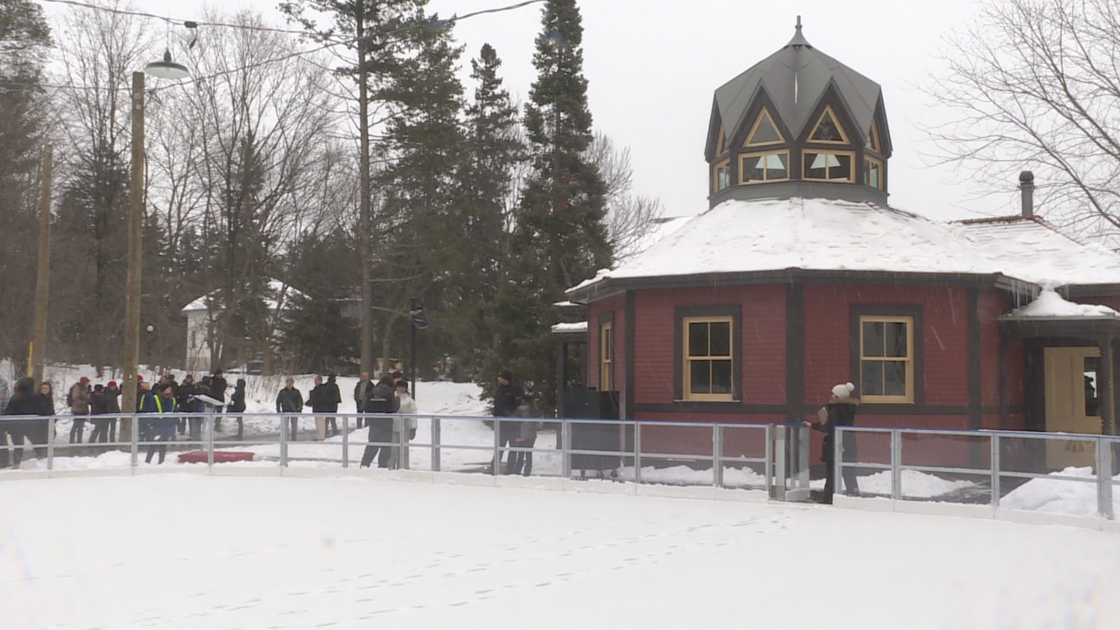 La patinoire de Rideau Hall