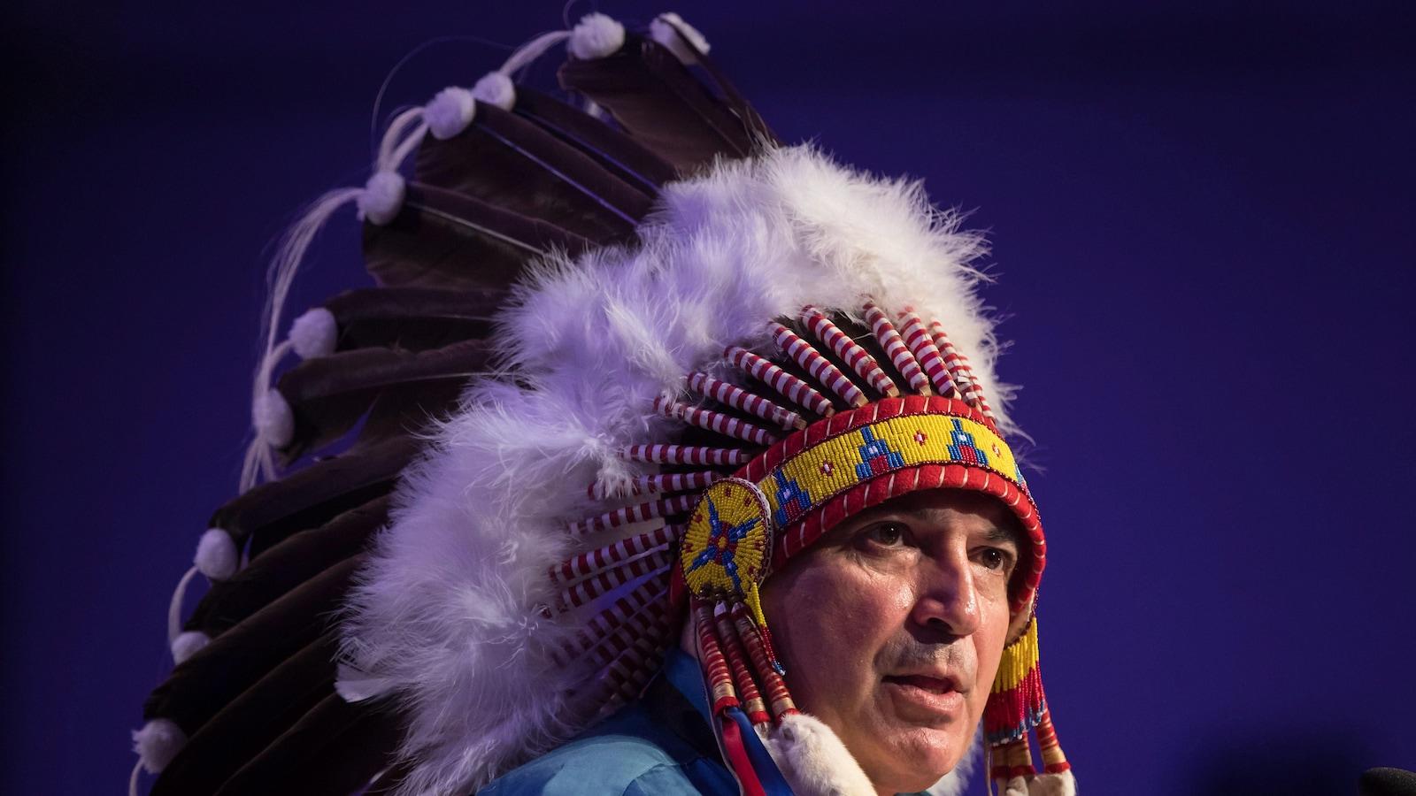 Chef autochtone.