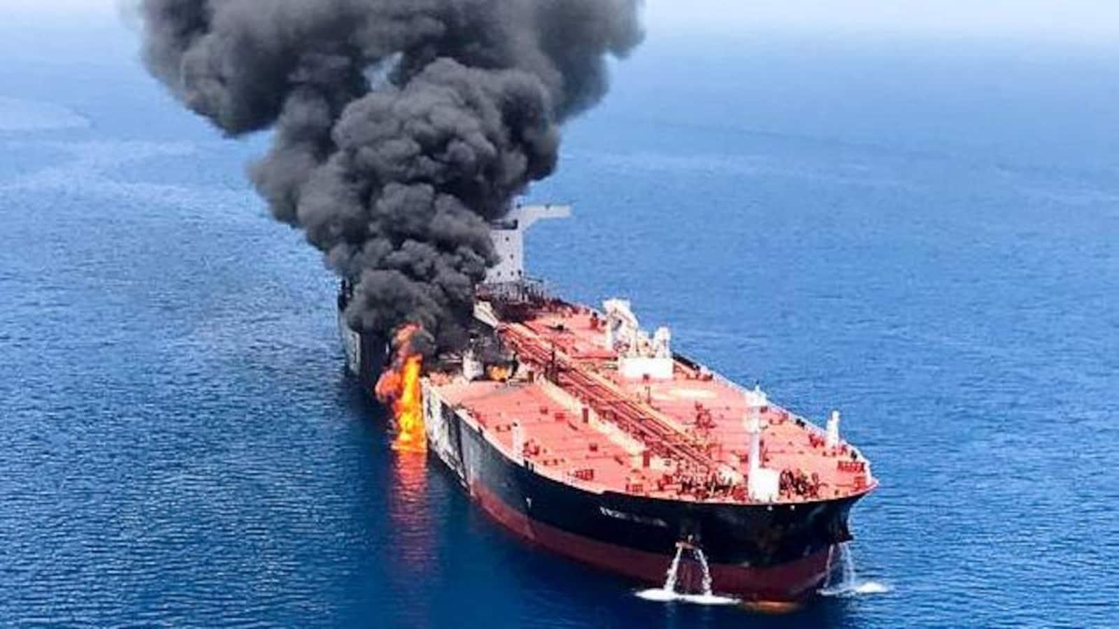 Des navires iraniens tentent de bloquer un pétrolier britannique, assure Londres — Golfe