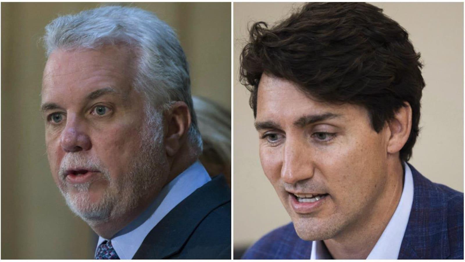 Montage de photos des deux premiers ministres