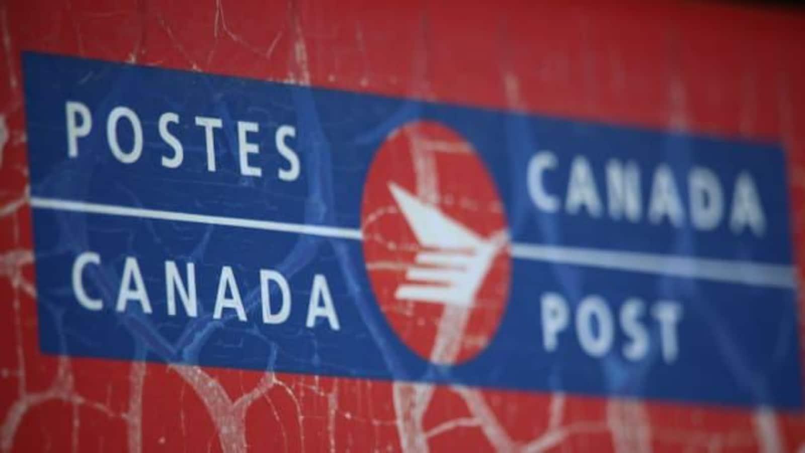 affiche de Postes-Canada