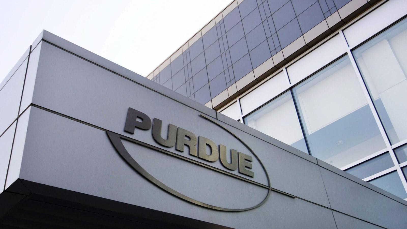 Logo de la compagnie Purdue.