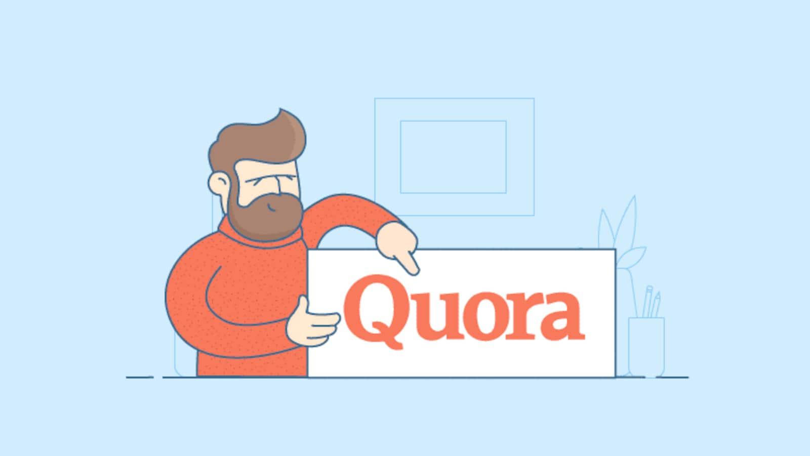 Quora est un site web de questions-réponses.