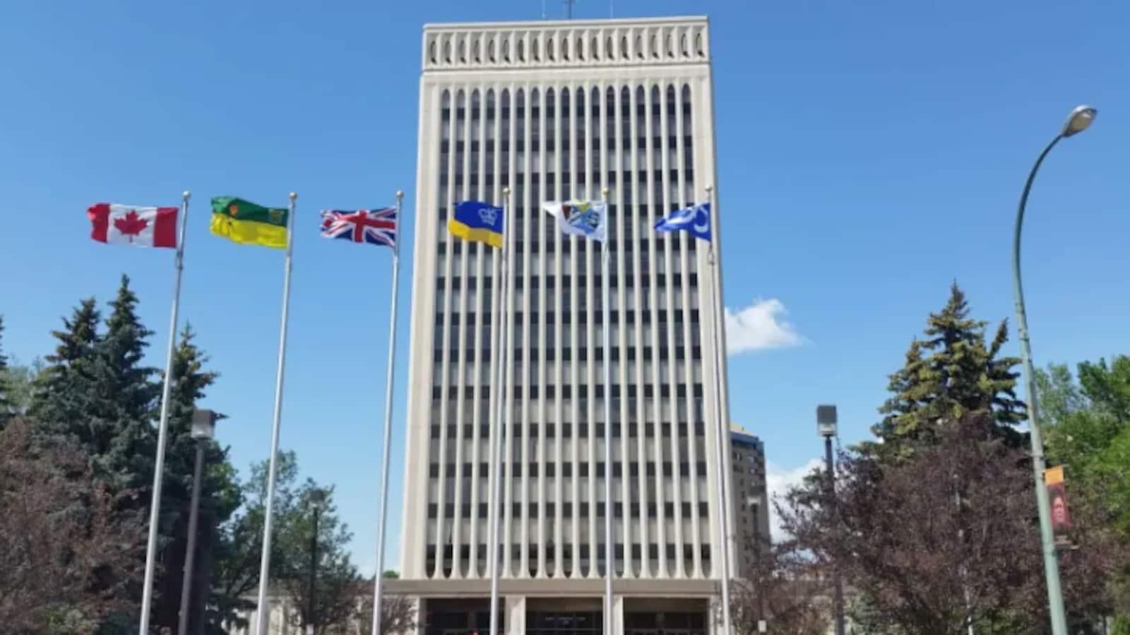 L'hôtel de ville de Regina.