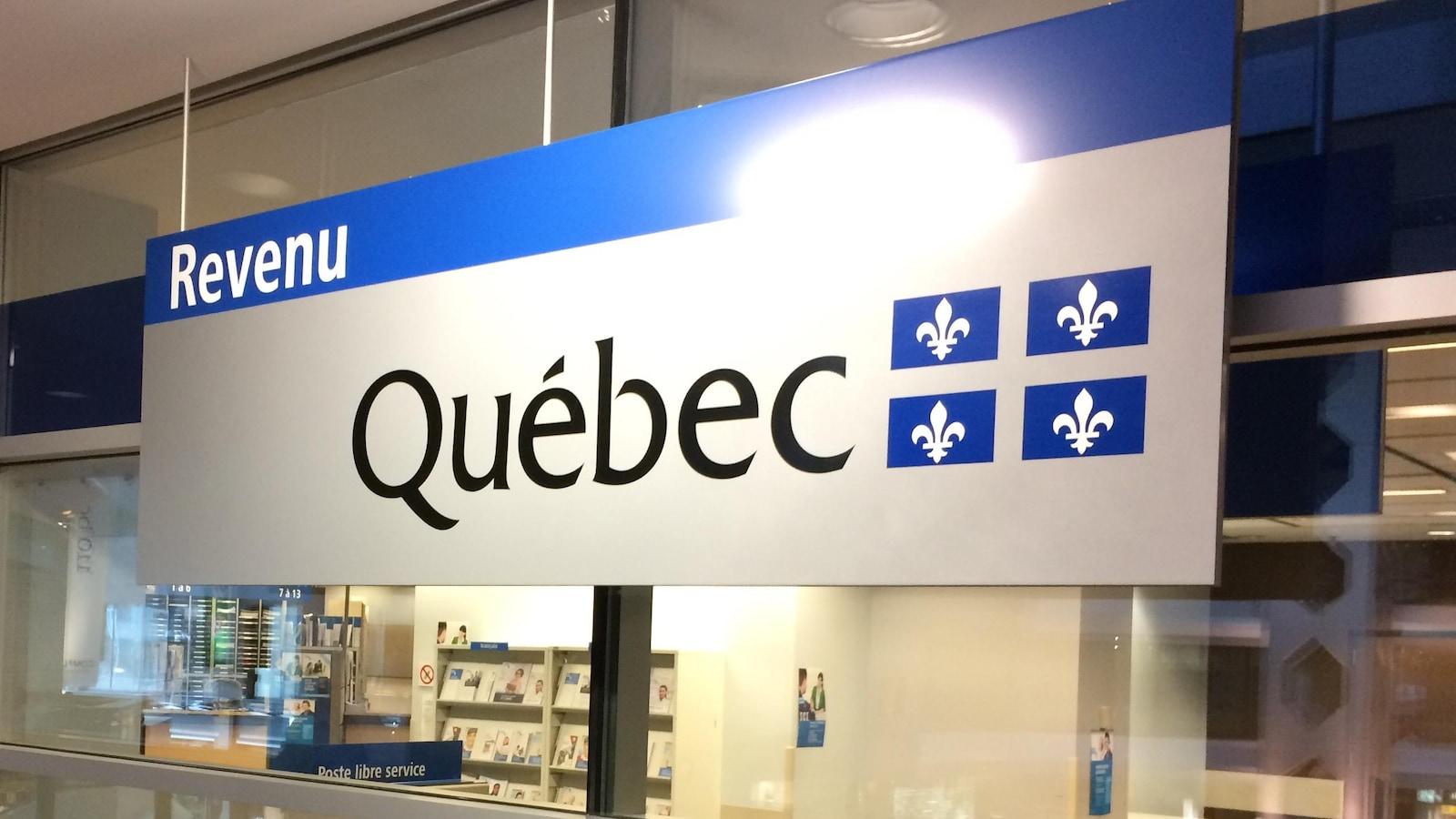 Bureau de Revenu Québec.
