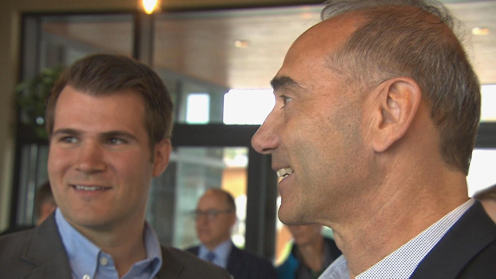 Le candidat du Parti conservateur du Canada dans Chicoutimi-Le Fjord, Richard Martel