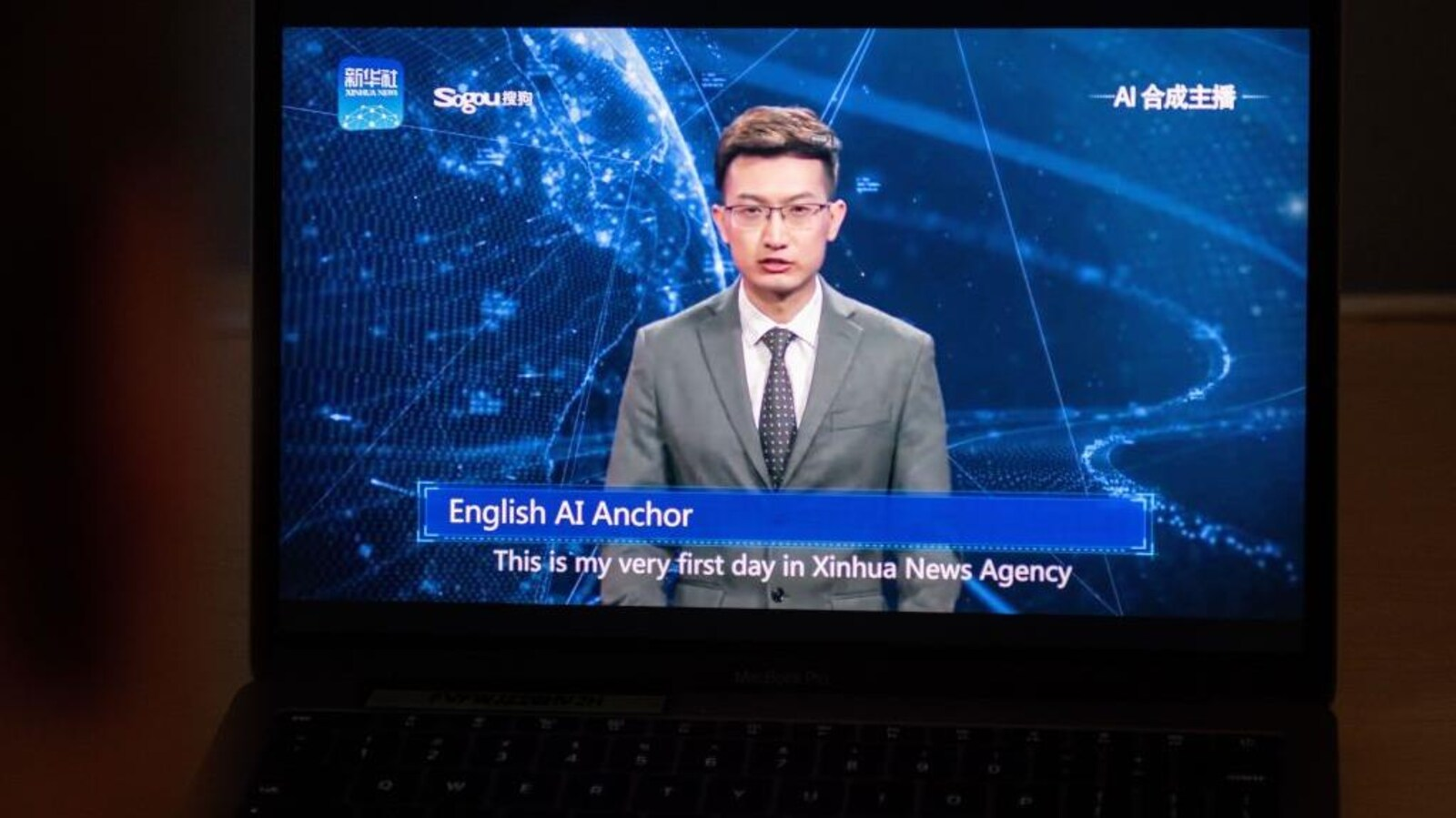Les robots prêts à envahir le téléjournal en Chine   ICI.Radio-Canada.ca ca9f826f025f