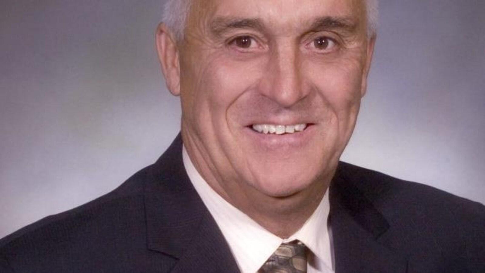 Le maire de Beaubassin-Est, Ronnie Duguay.