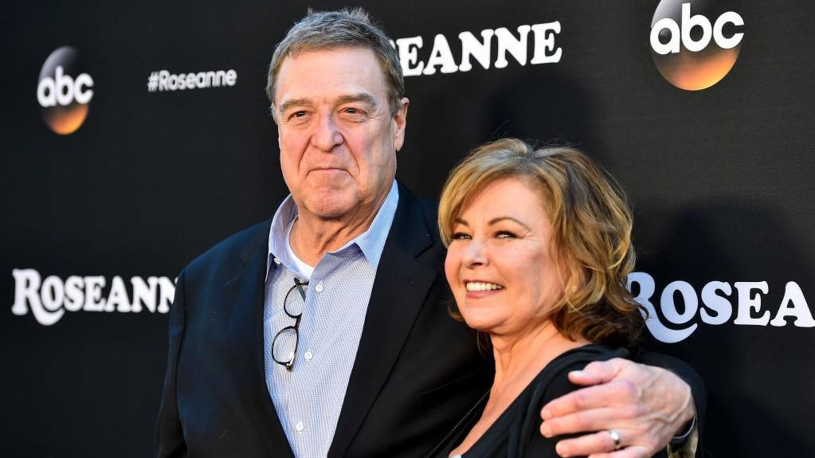 Portrait de John Goodman et Roseanne Barr.