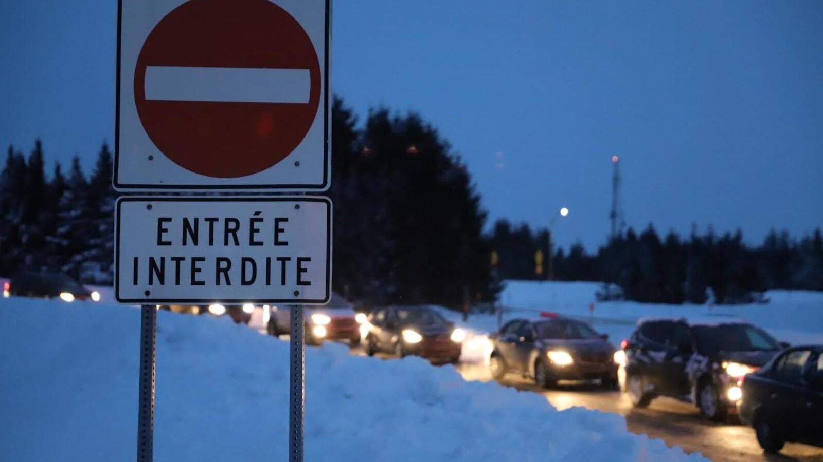 Des routes sont fermées dans Chaudière-Appalaches en raison de la tempête.