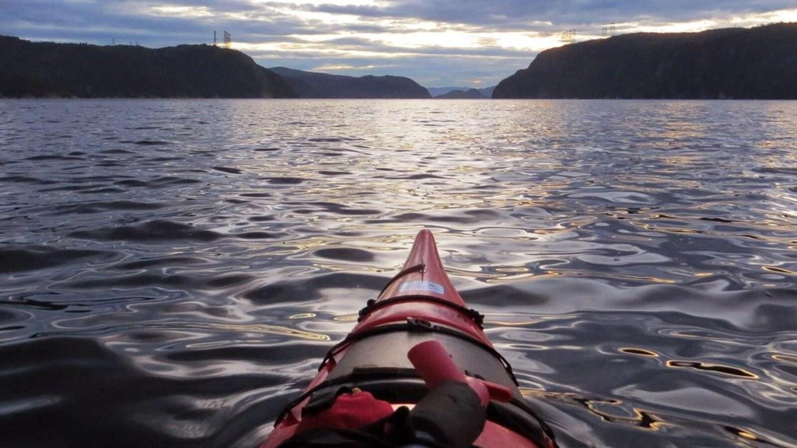 Le fjord du Saguenay, près de Tadoussac
