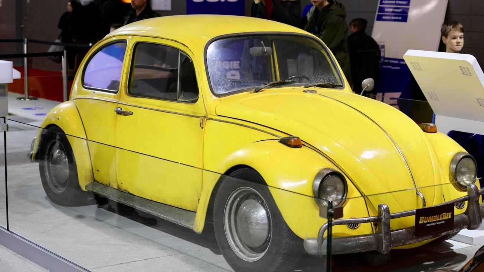 Une légendaire Volkswagen New Beetle.