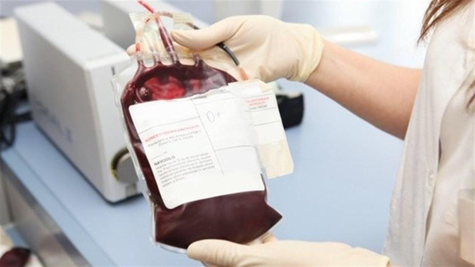 Un sac de sang