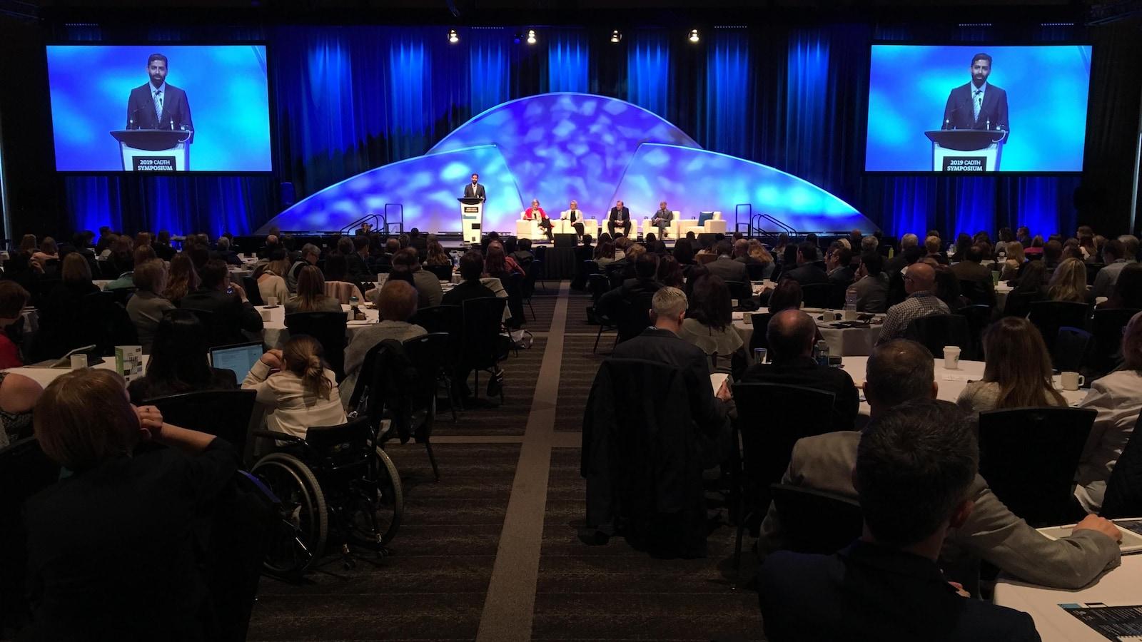 Le colloque organisé par l'Agence canadienne des médicaments et des technologies de la santé à Edmonton rassemble des professionnels du secteur venus de tout le Canada.