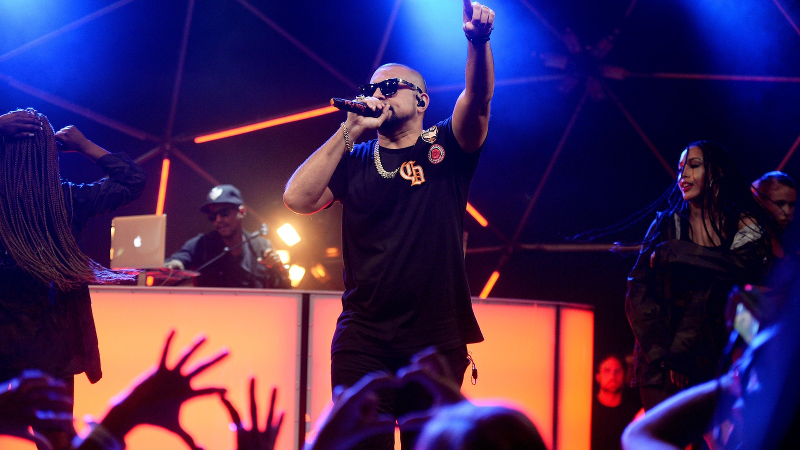 Sean Paul à MTV Live Stage en juin 2017 à Londres.