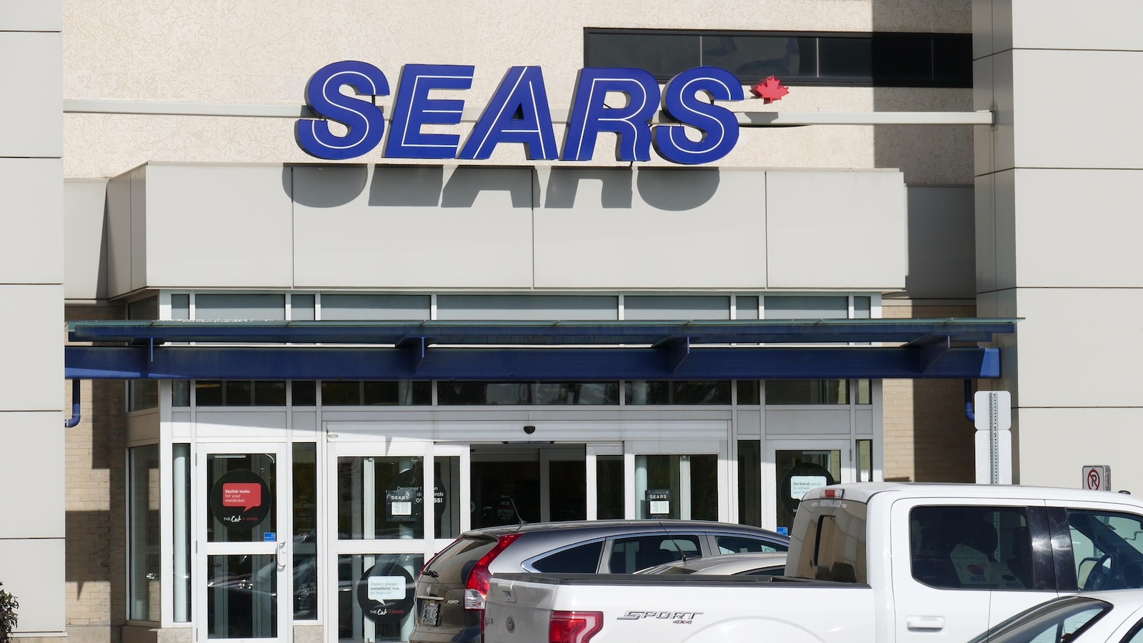 Le magasin Sears du centre commercial Polo Park à Winnipeg