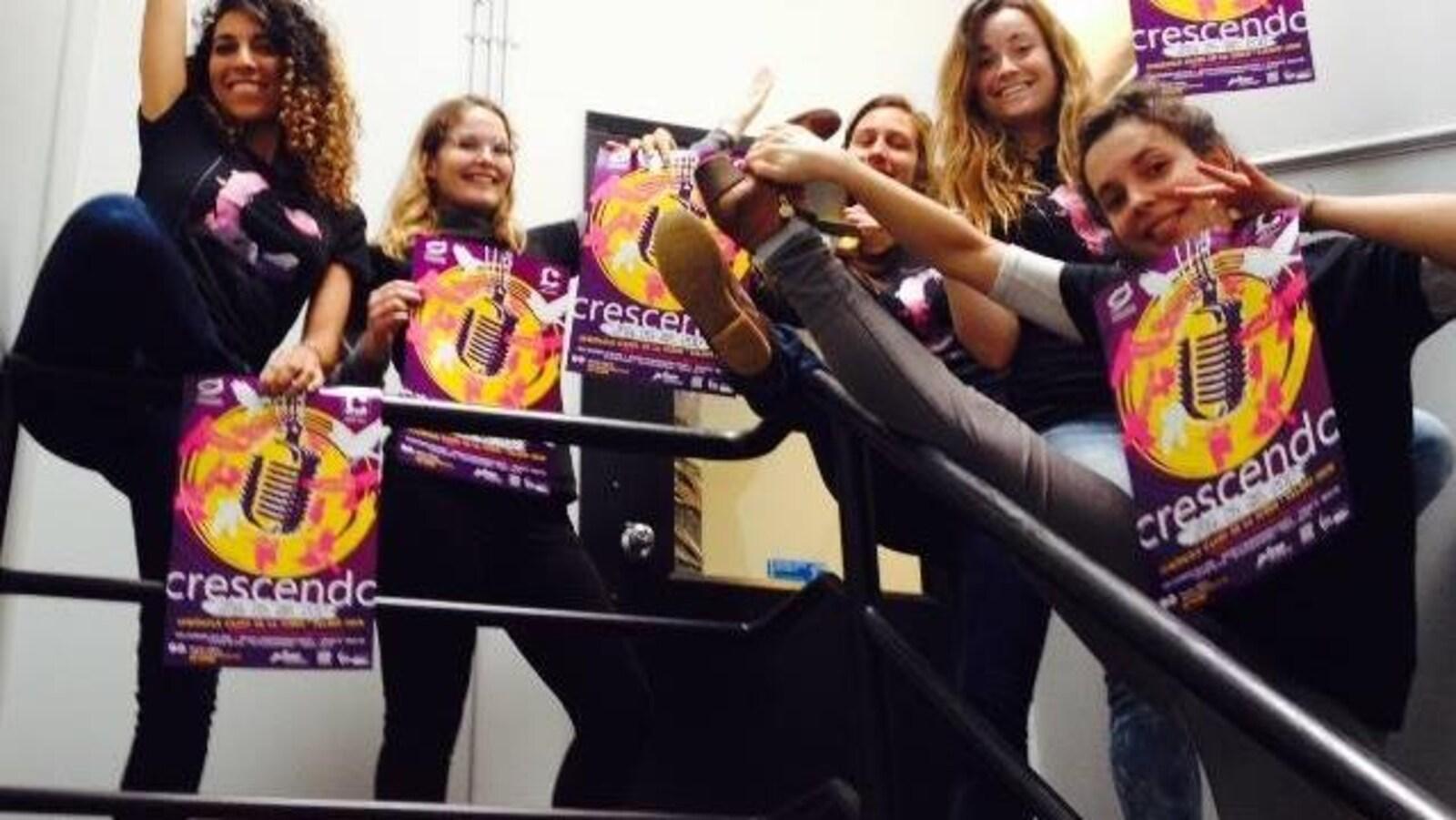 Les jeunes talents artistiques francophones de la province au spectacle « Crescendo »