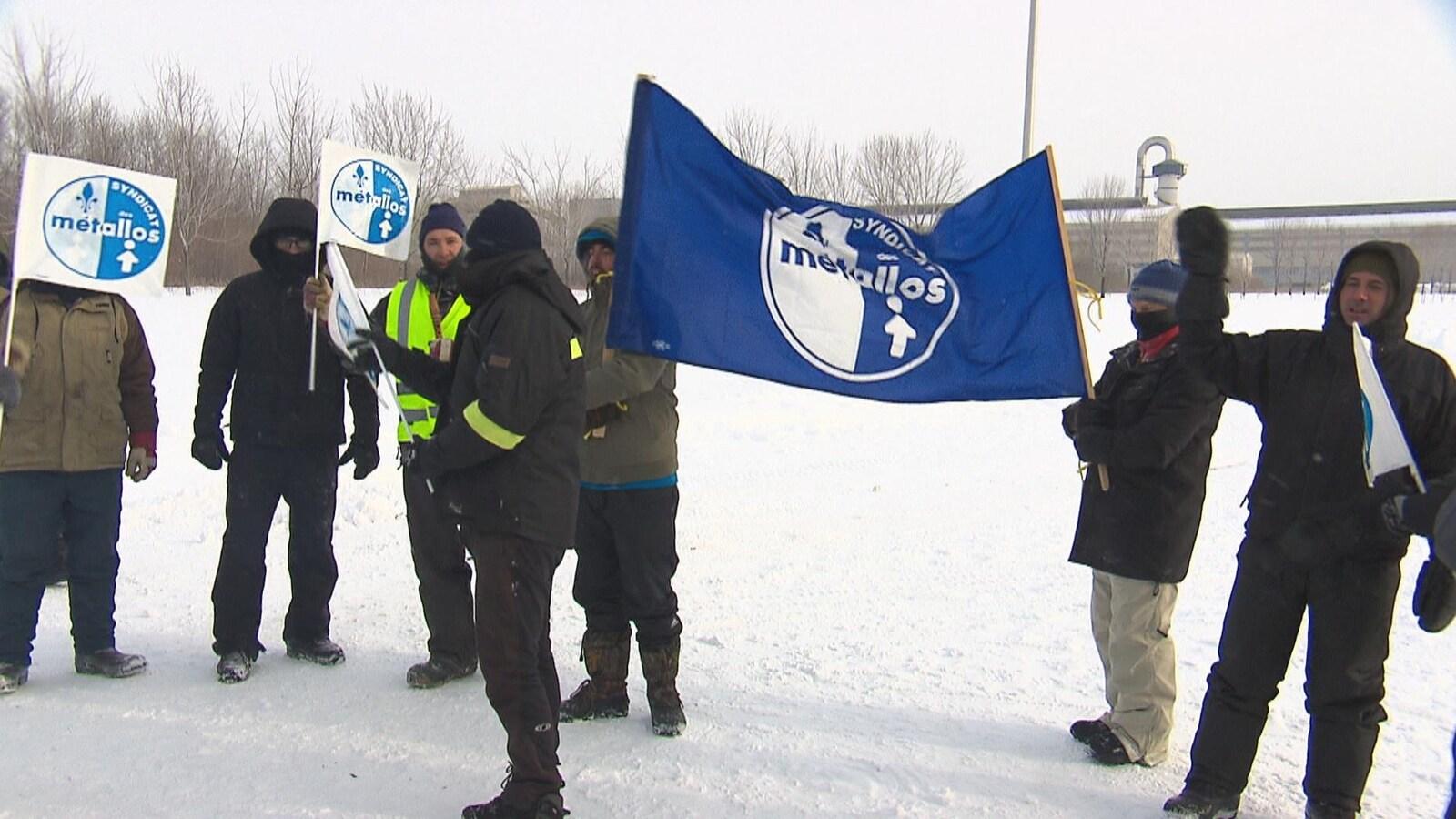 15 travailleurs sont autorisés à être simultanément sur les piquets de grève à l'ABI.