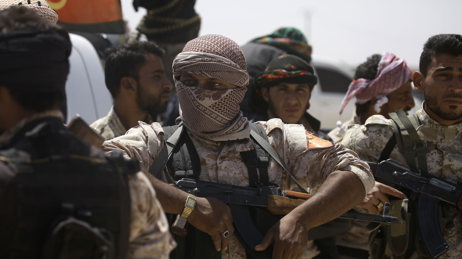 Des membres des forces américaines en Syrie