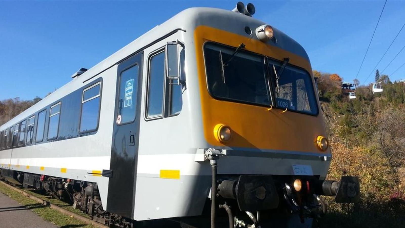 Le train léger de Charlevoix