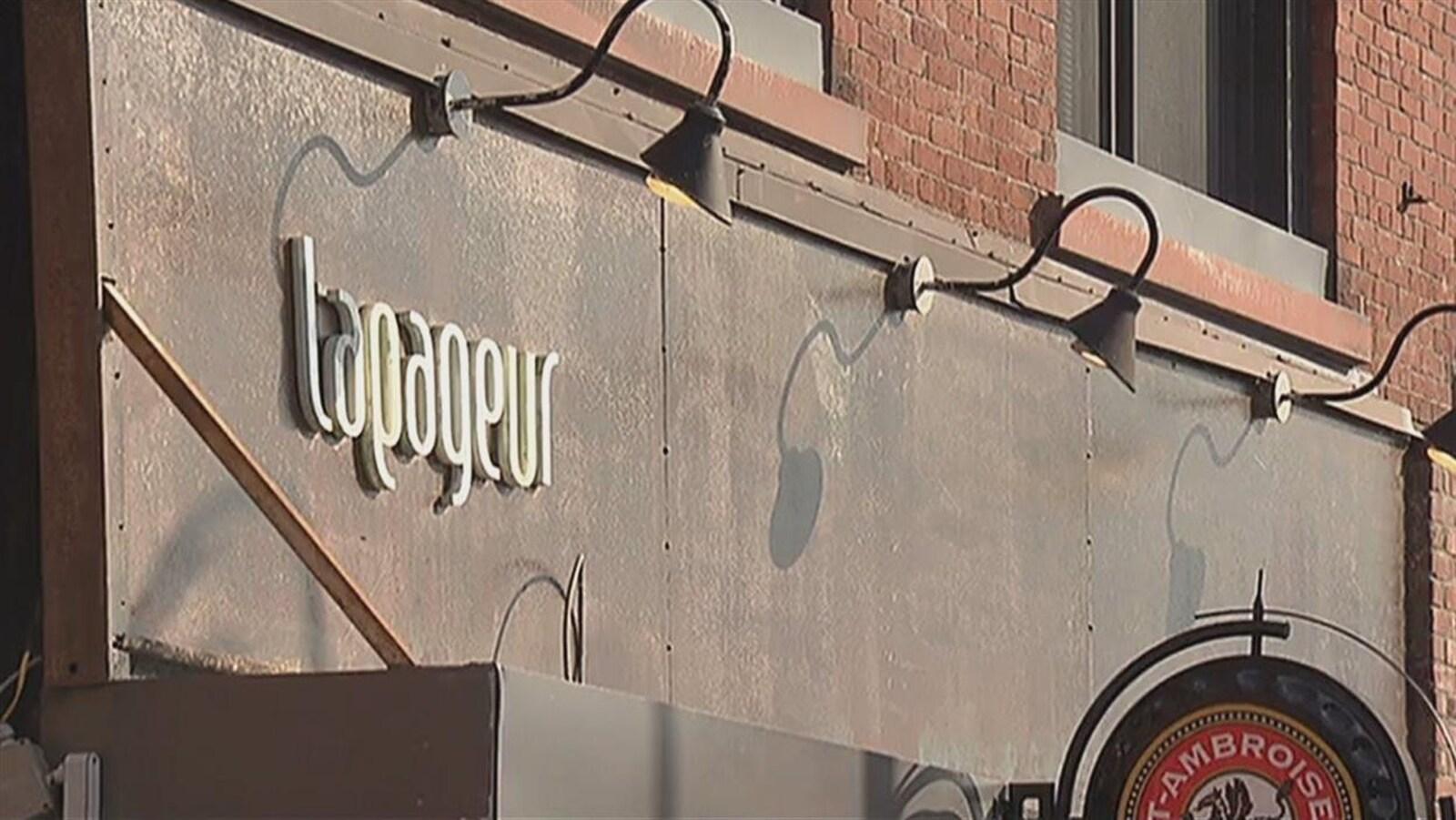 Le restaurant Le Tapageur, à Sherbrooke (archives)