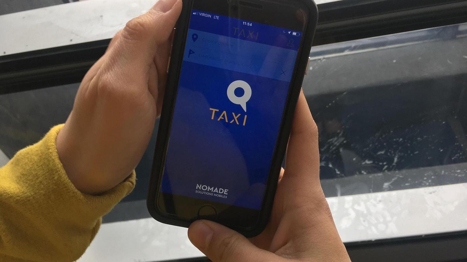 L'application Taxi Coop a été lancé en 2015.