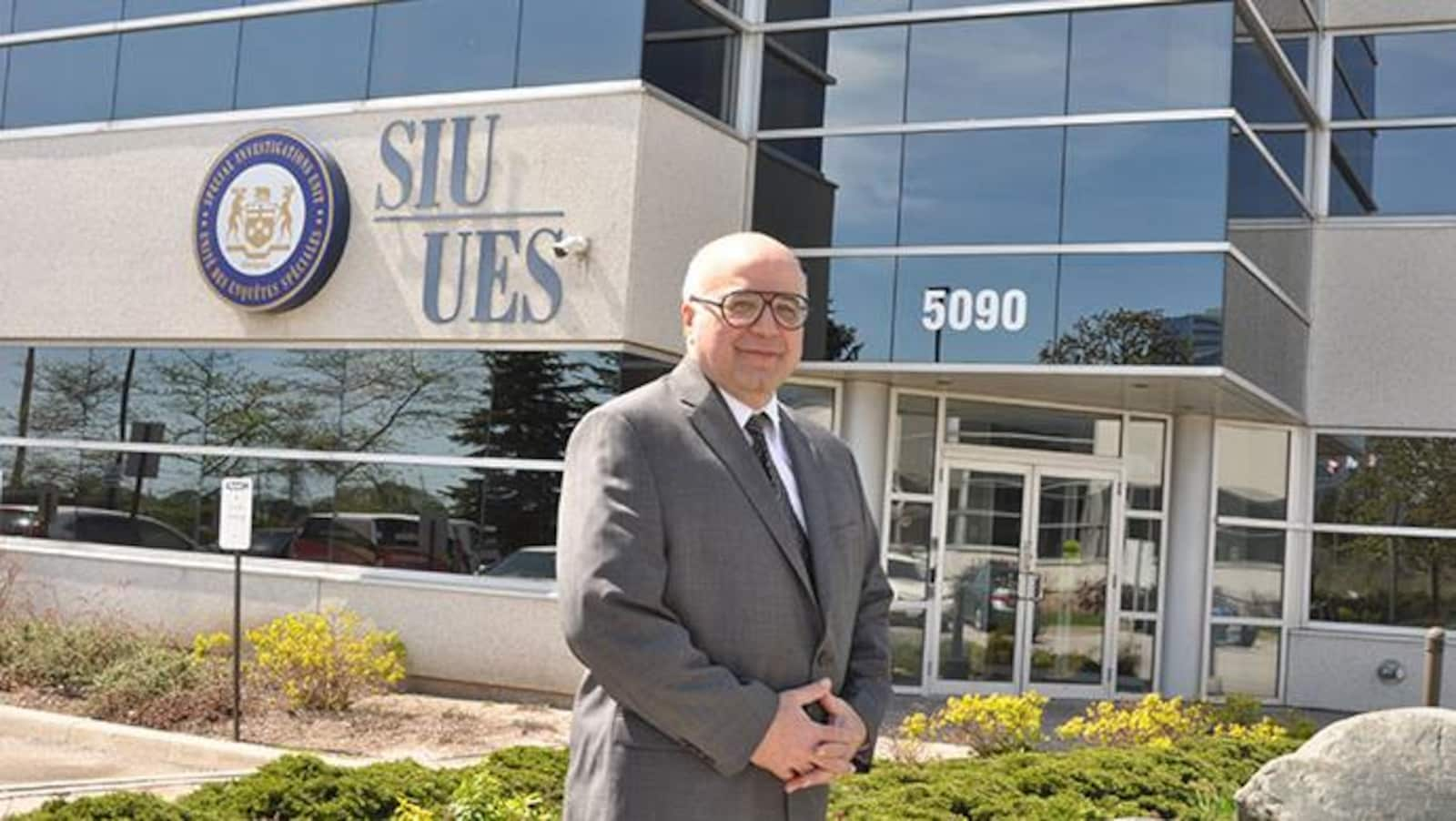 Tony Loparco, directeur de l'Unité des enquêtes spéciales de l'Ontario