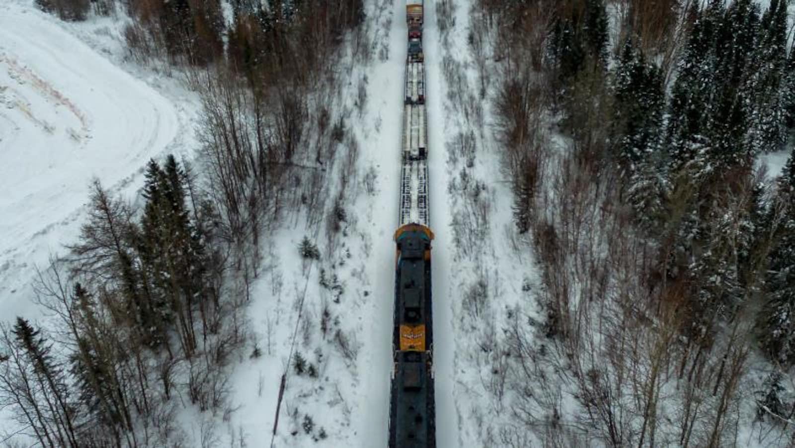 Train Polar Bear Express d'Ontario Northland.