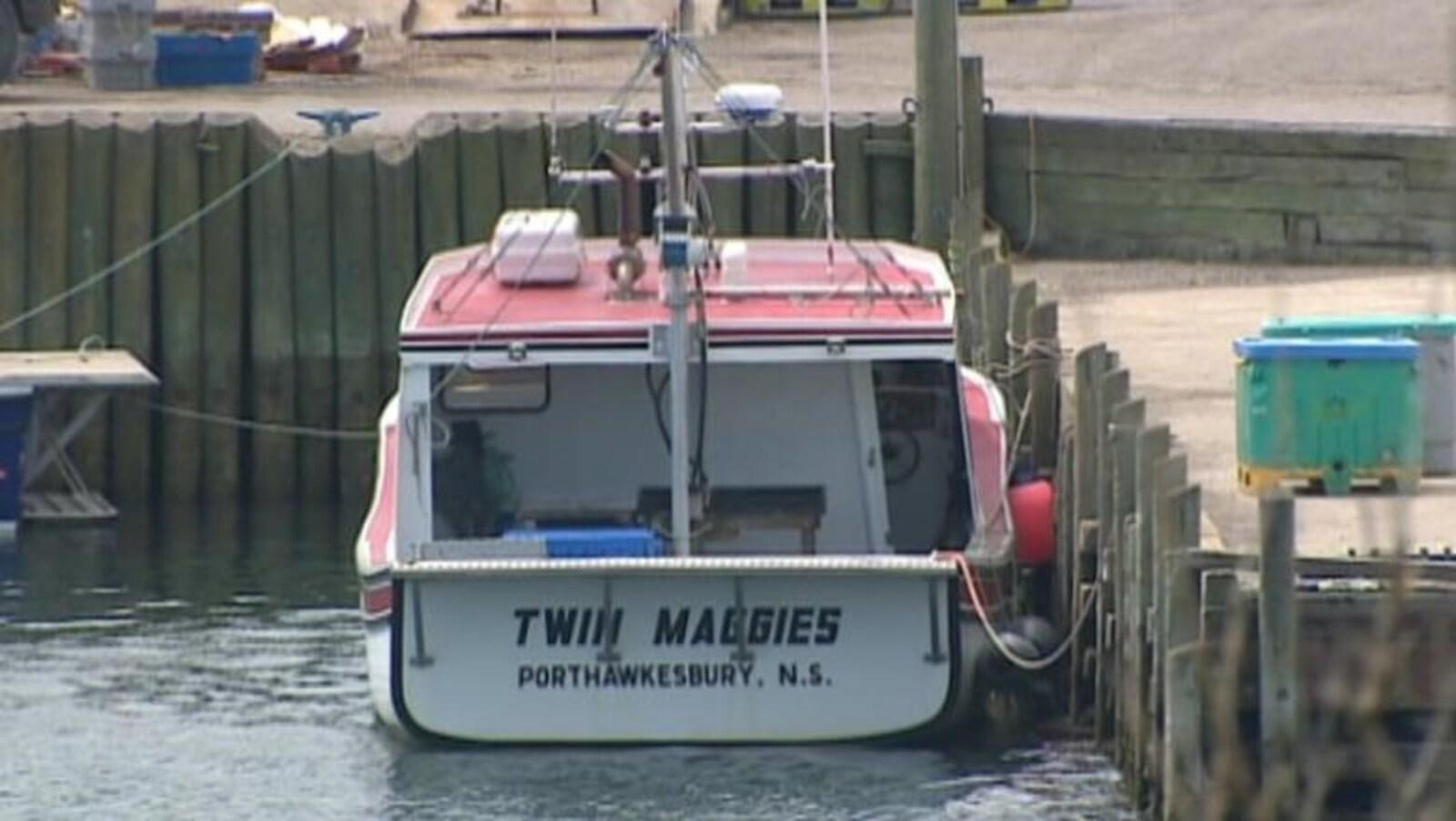 Le bateau Twin Maggies