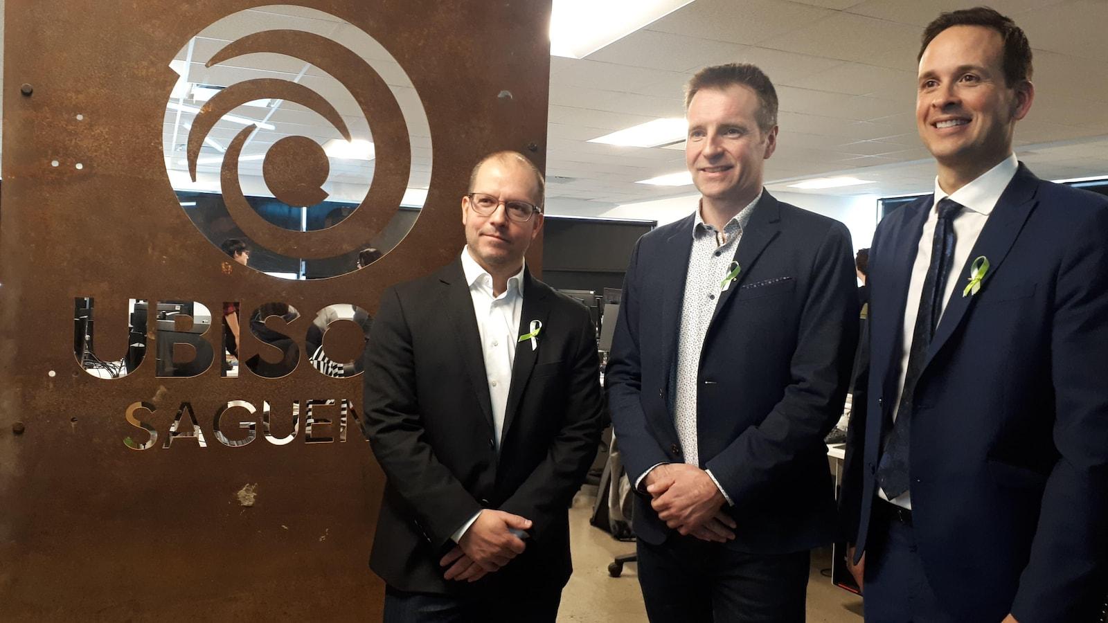 Un Premier Anniversaire Et Des Projets Chez Ubisoft Saguenay Ici
