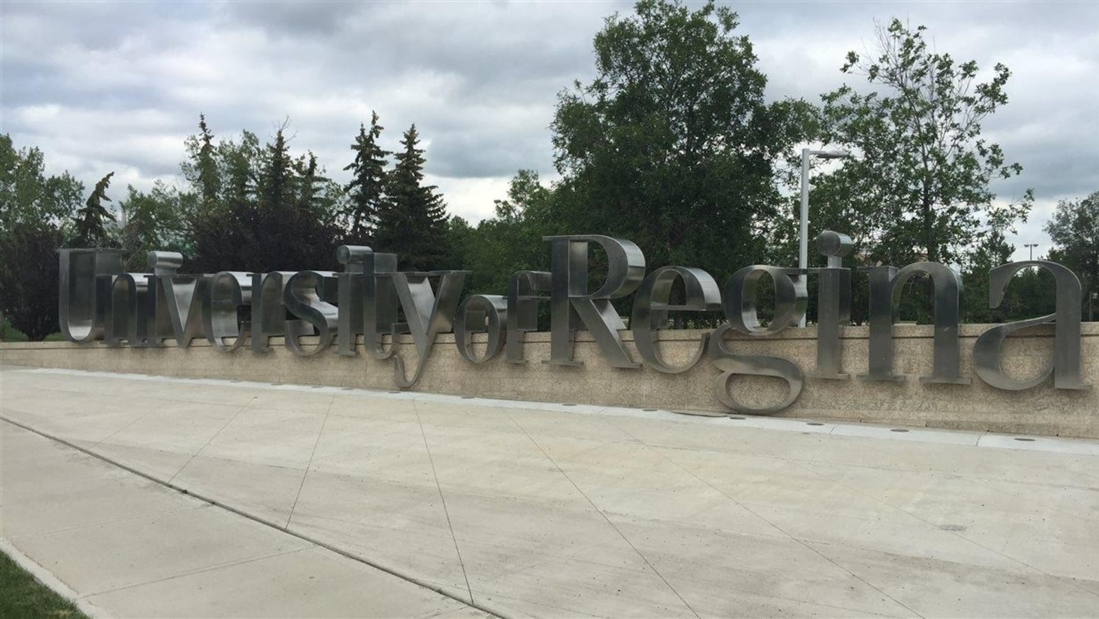 Le campus principal de l'Université de Regina