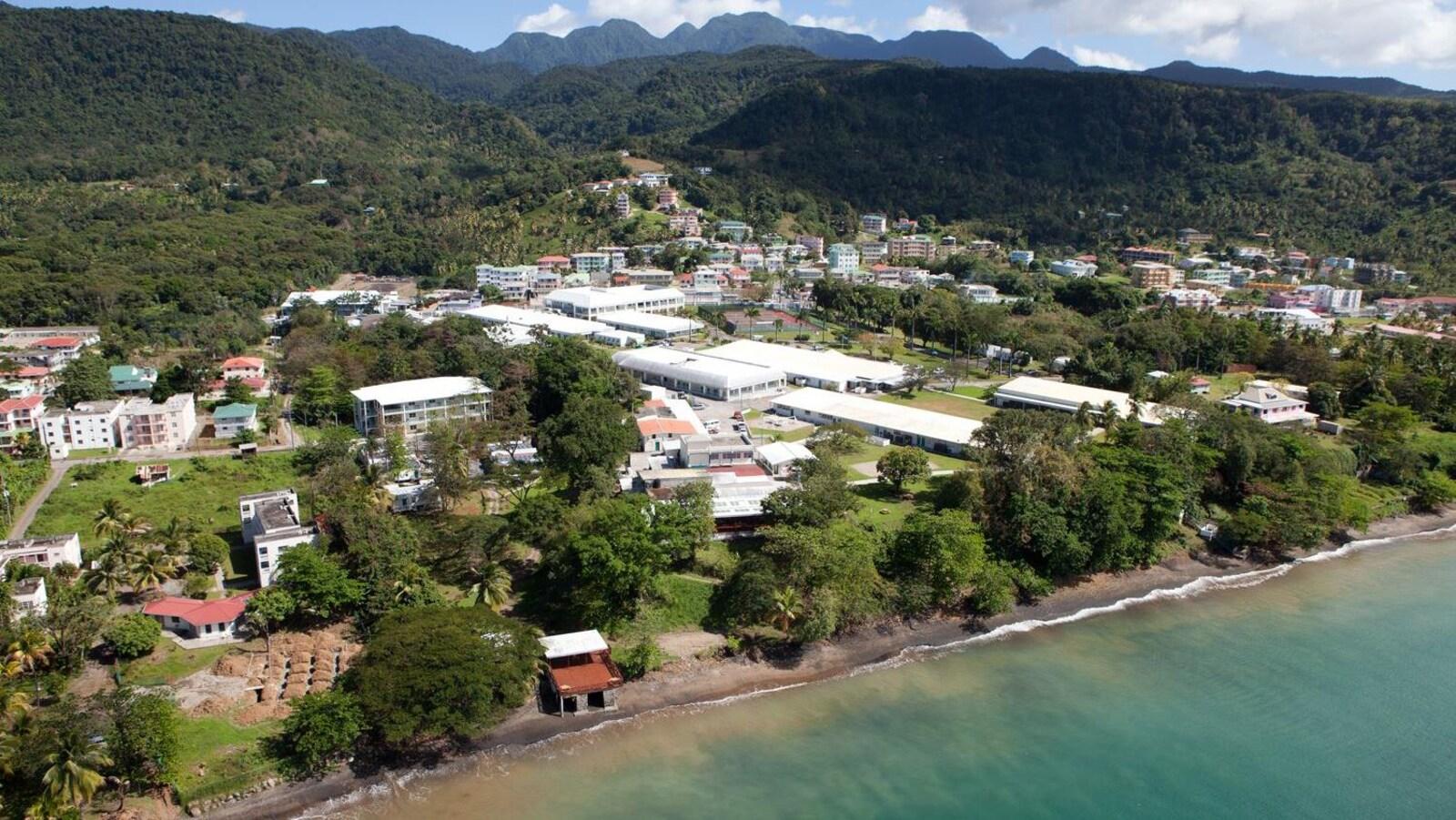Le campus de la Ross University