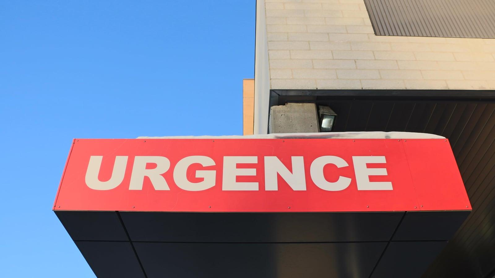 L'urgence d'un hôpital.