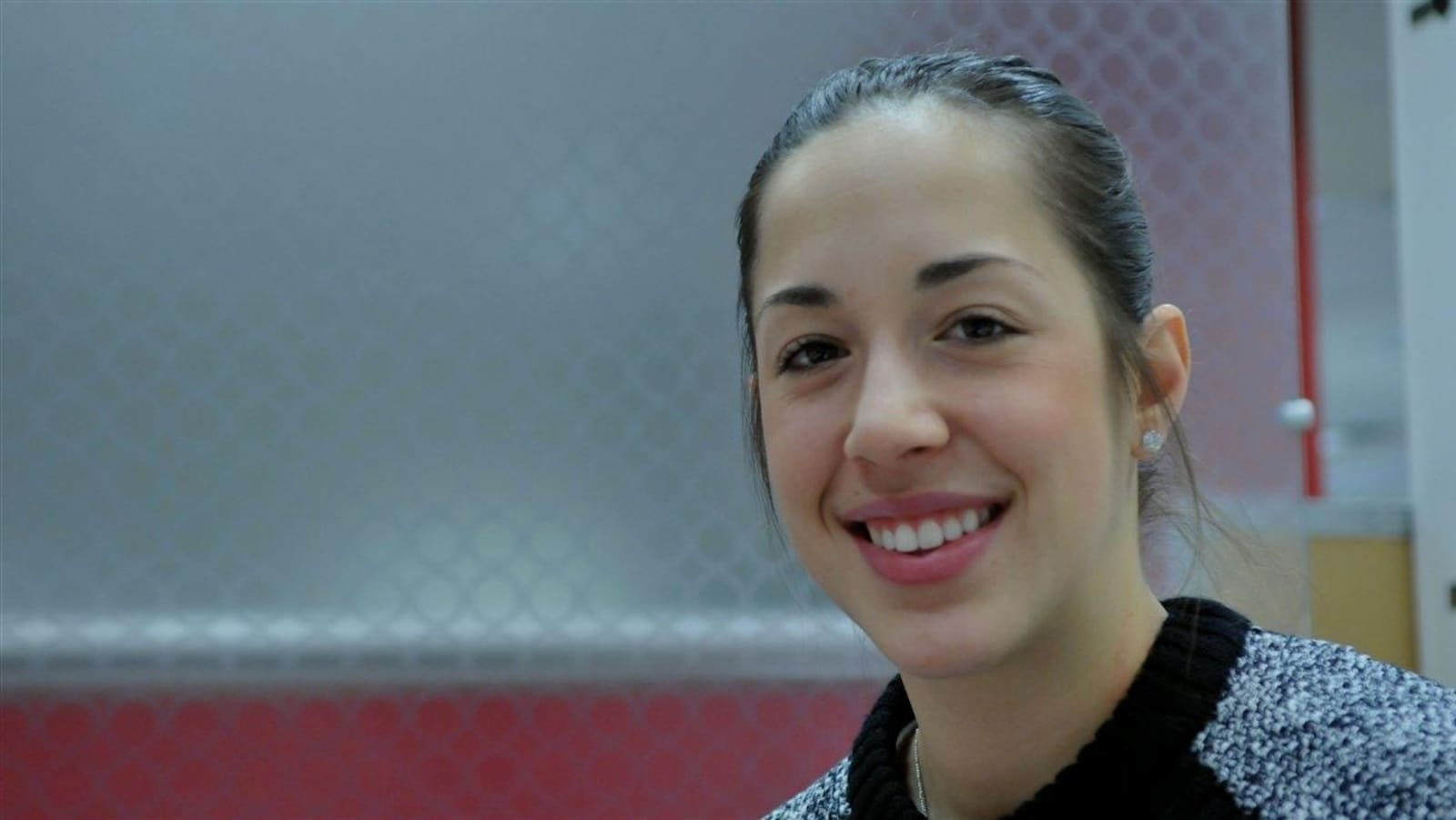 La patineuse de vitesse Valérie Maltais