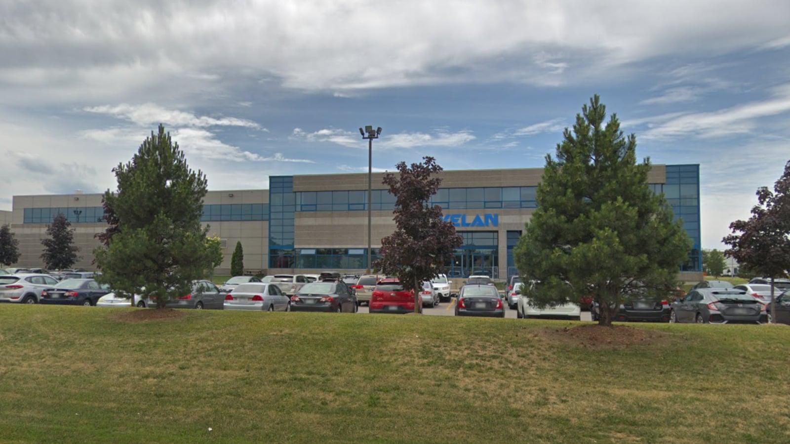 L'usine Vela à Saint-Laurent