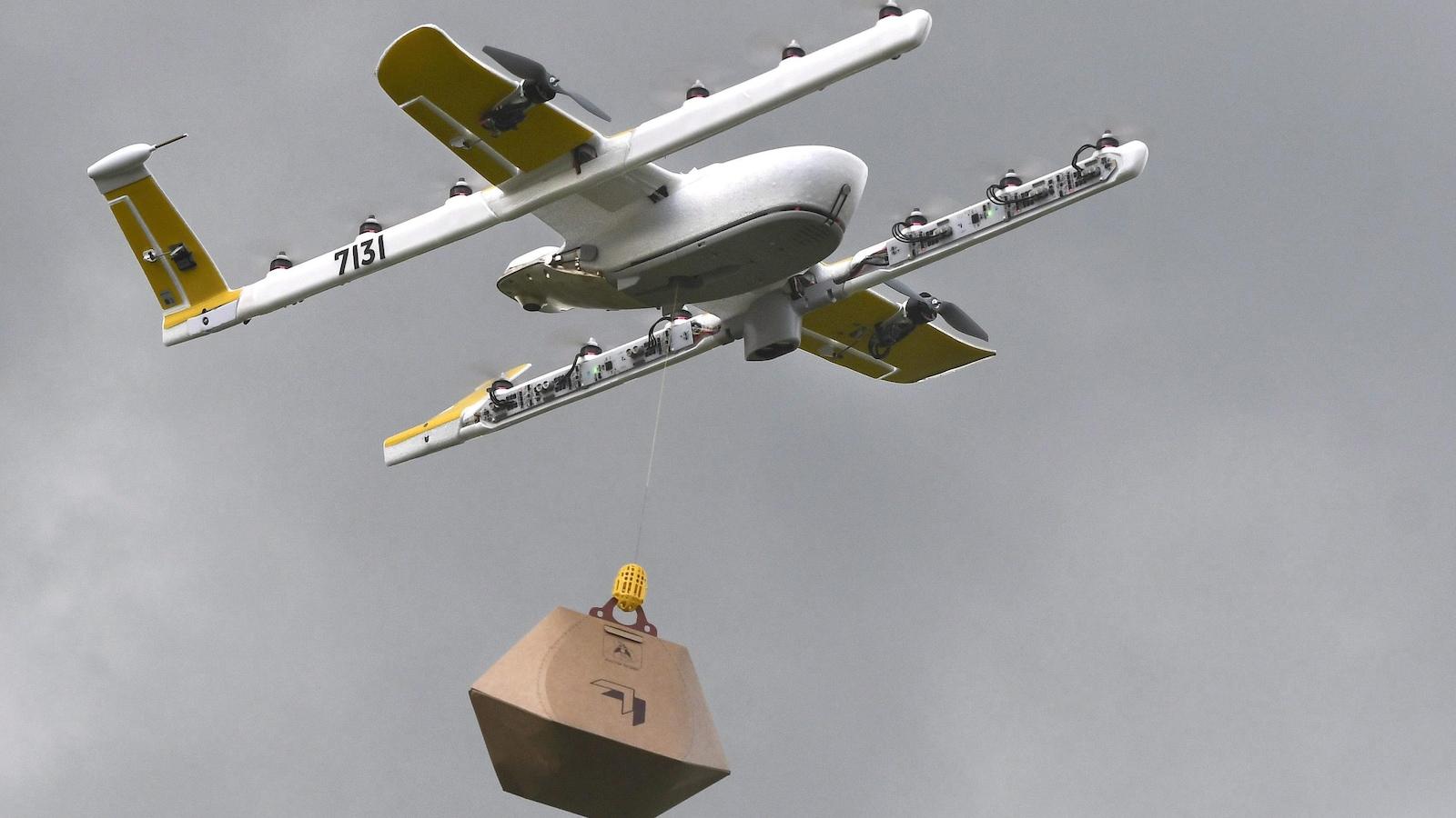 À Canberra, Google livre du café et des burritos par drone — Australie