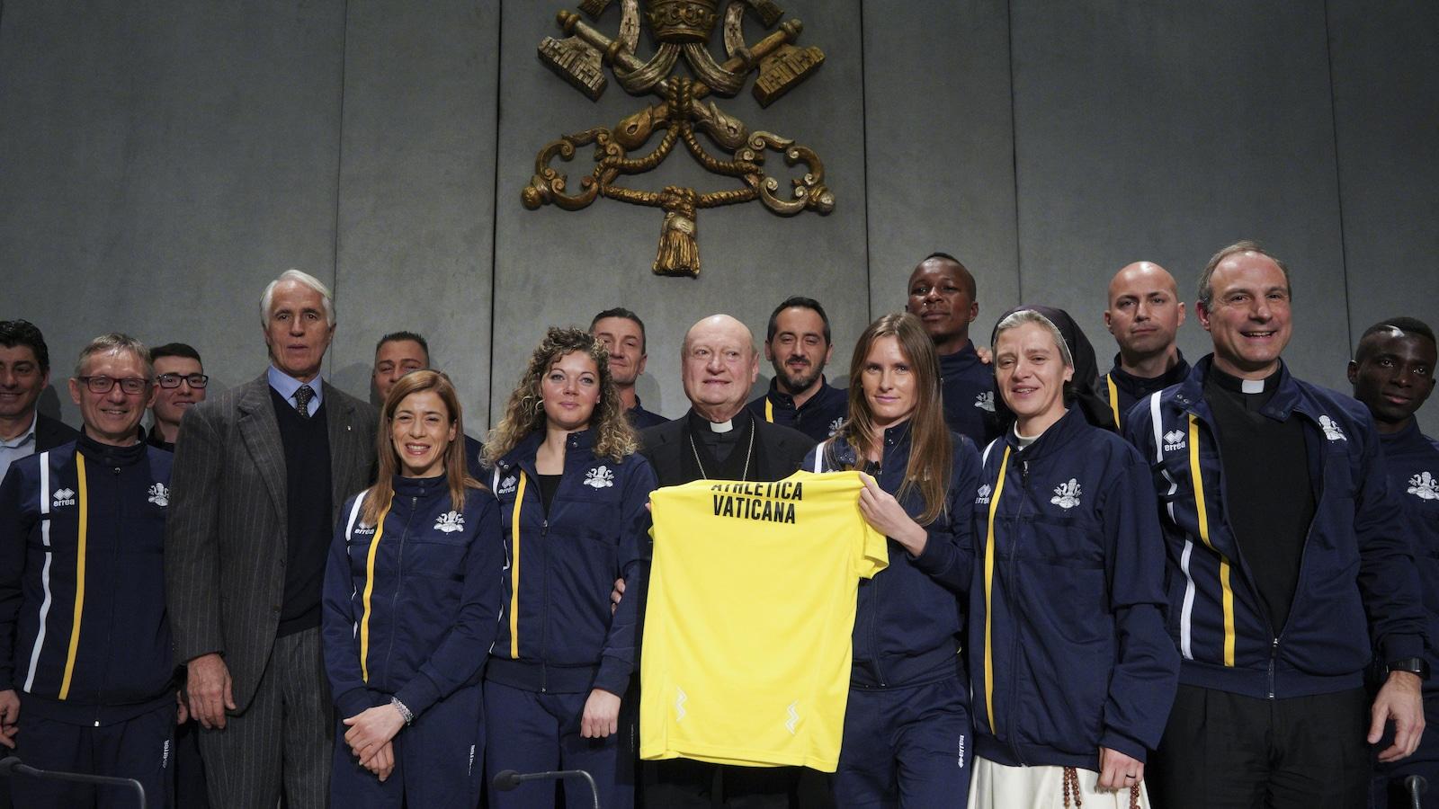 Le Vatican fonde une équipe d'athlétisme afin de concourir aux quatre coins du monde.