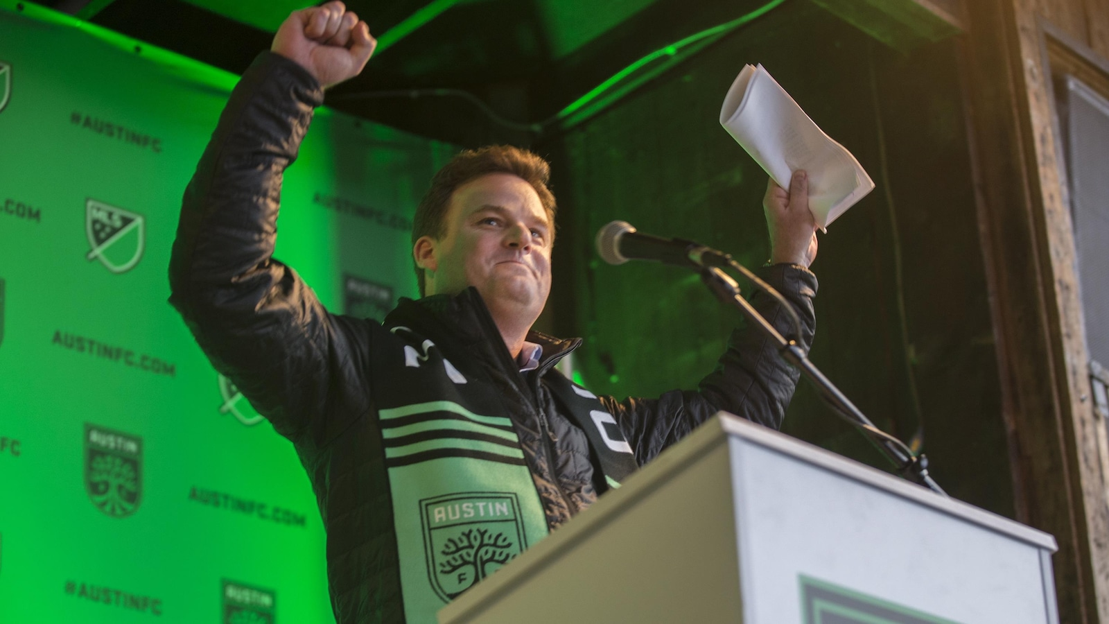 Anthony Precourt, propriétaire majoritaire de la franchise de la MLS à Austin au Texas