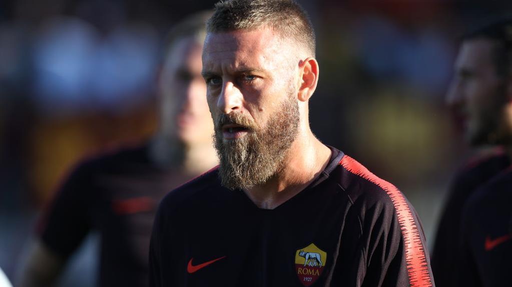 Daniele De Rossi, capitaine de l'AS Rome