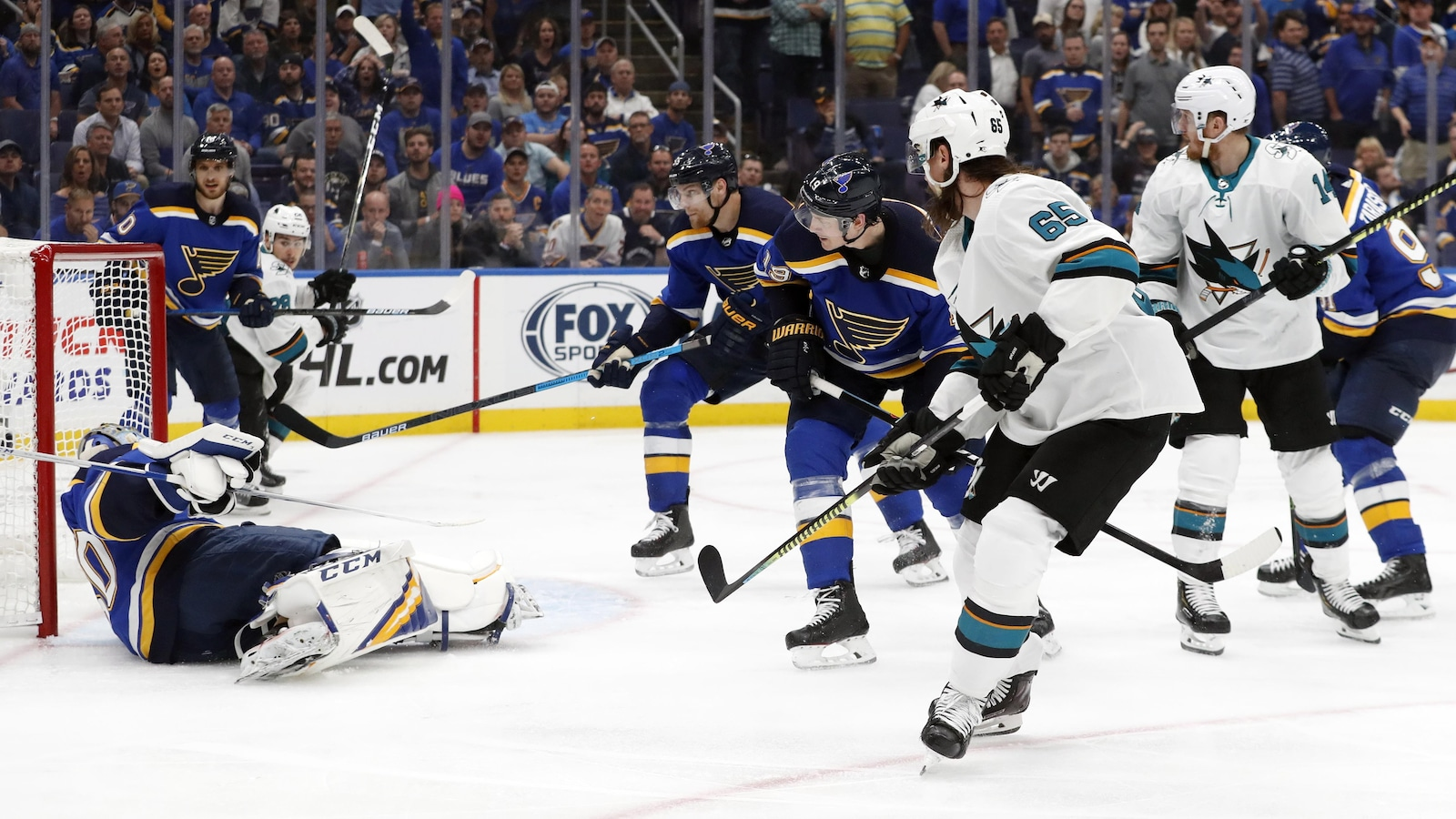 Saint-Louis domine San Jose et rejoint Boston en finale — NHL