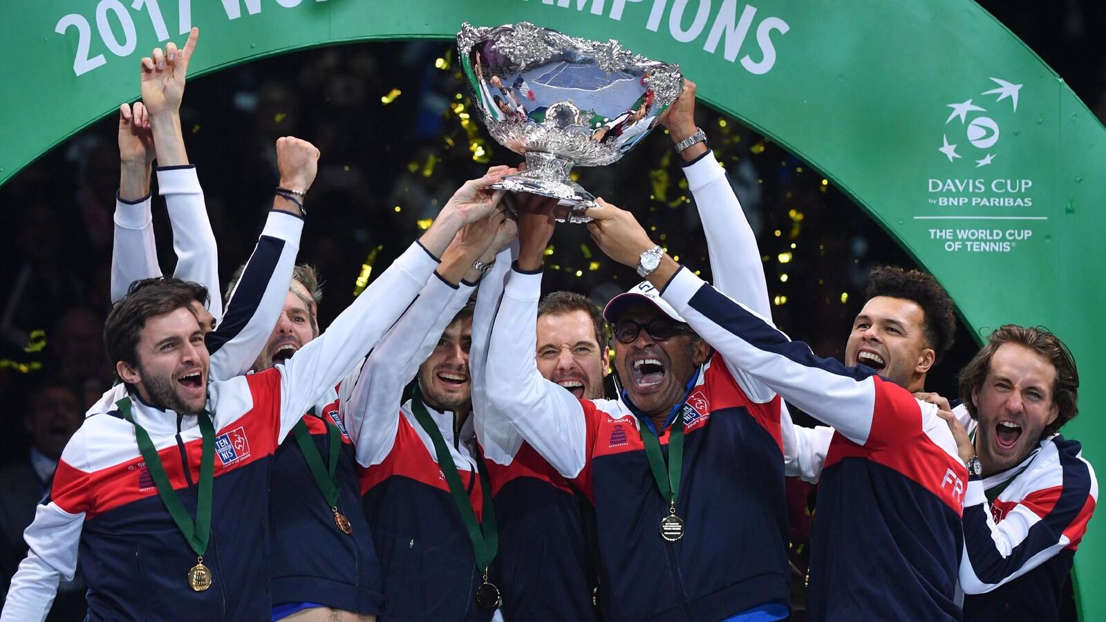 La France a remporté la Coupe Davis en 2017.