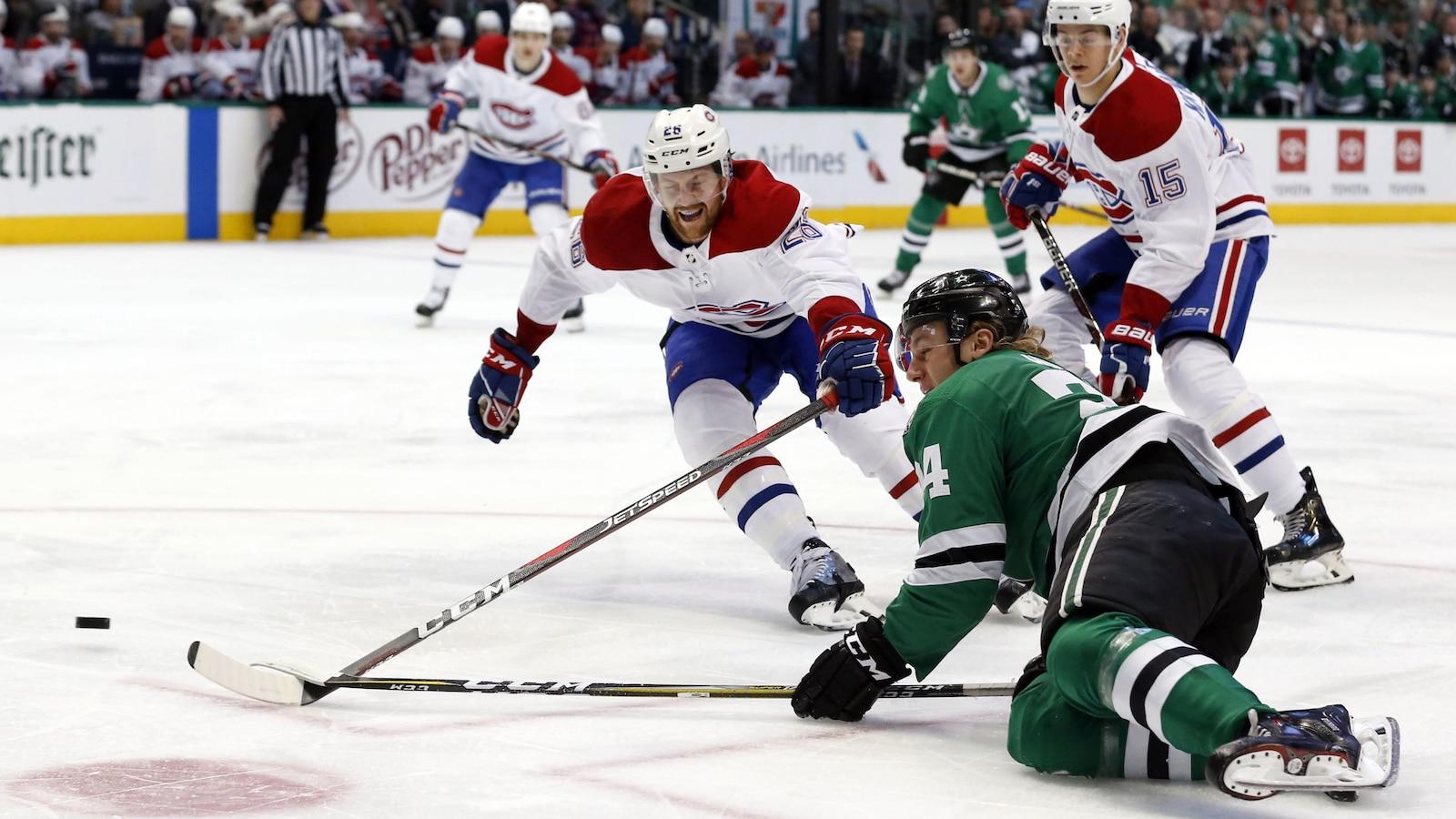 Le Canadien a conclu son voyage de six matchs à l'étranger avec une victoire à Dallas.