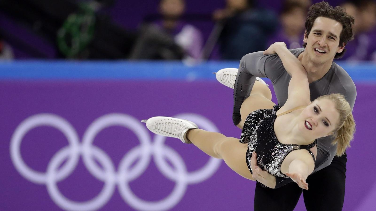 Julianne Séguin et Charlie Bilodeau ont participé à leurs premiers Jeux olympiques à Pyeongchang.