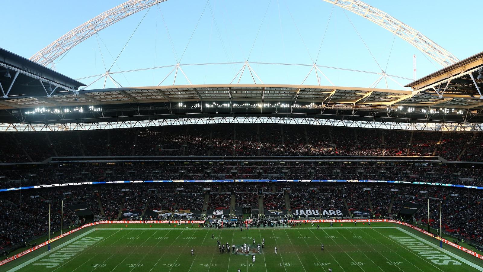 La NFL au stade de Wembley à Londres